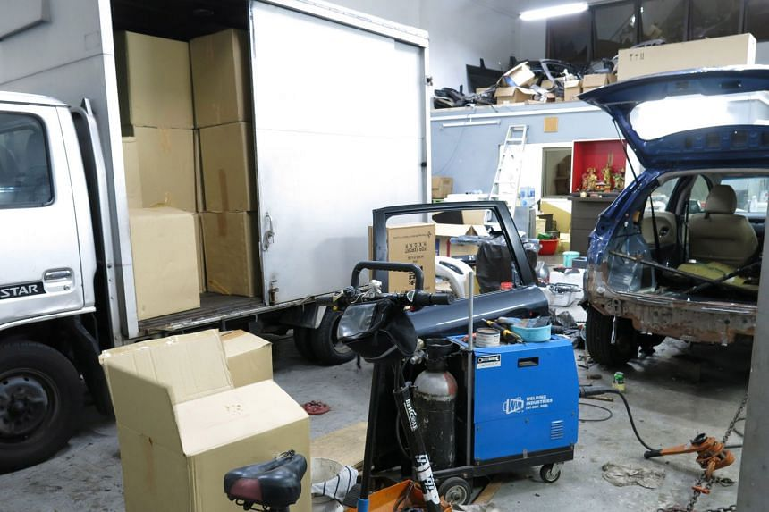 Eight men were arrested and 5,120 cartons of contraband cigarettes were found in a raid on a motor workshop in Kaki Bukit in April. In the past years, the overall number of duty-unpaid cigarettes confiscated has remained consistent, with 2.8 million