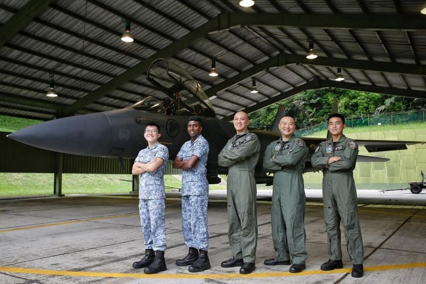The 149 Squadron won the Best Fighter Squadron Award in the Republic of Singapore Air Force for the eighth time, and this is its third win with the F-15SG multi-role fighter.