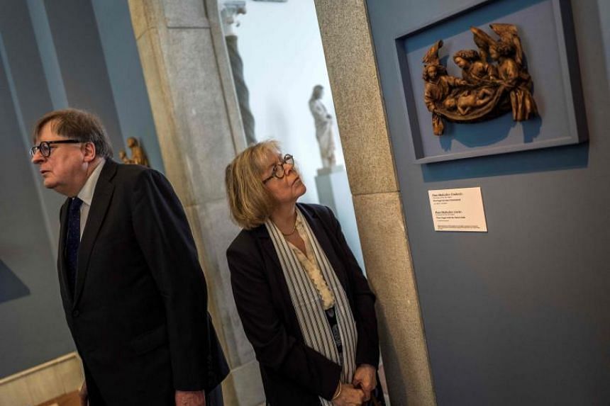 """The heirs agreed to sell back the medieval artifact, """"Three Angels with the Christ Child"""", at an undisclosed price to the Bode Museum, which will keep it in its collection."""