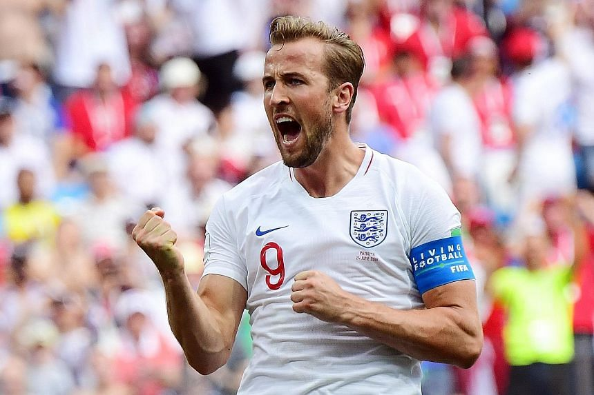 England captain Harry Kane leads the race for the Golden Boot with five goals after just two group games.