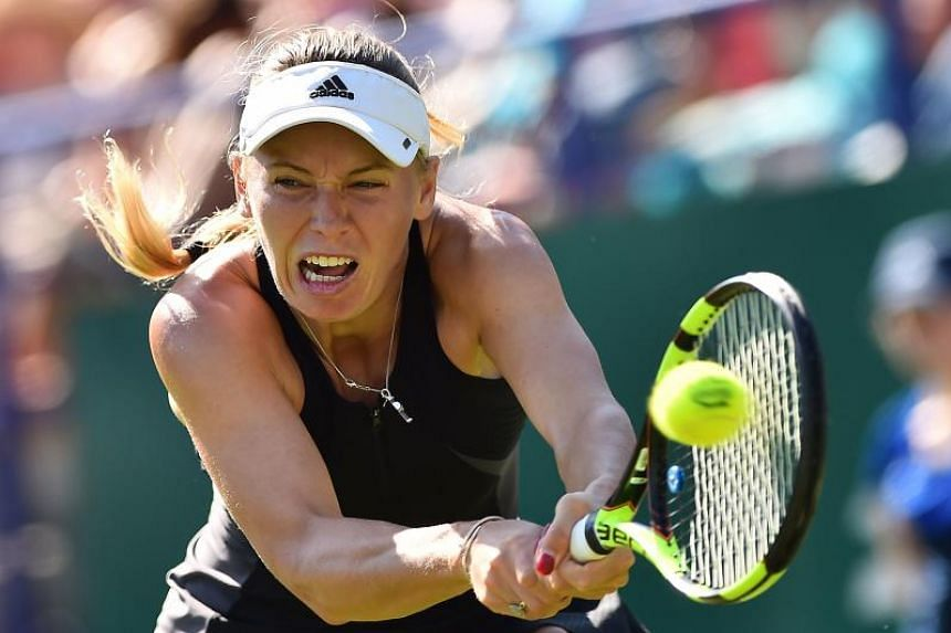 Denmark's Caroline Wozniacki has voiced for Serena Williams to be seeded at next month's Wimbledon Championships, before the All England Club's meeting, on June 26, 2018.