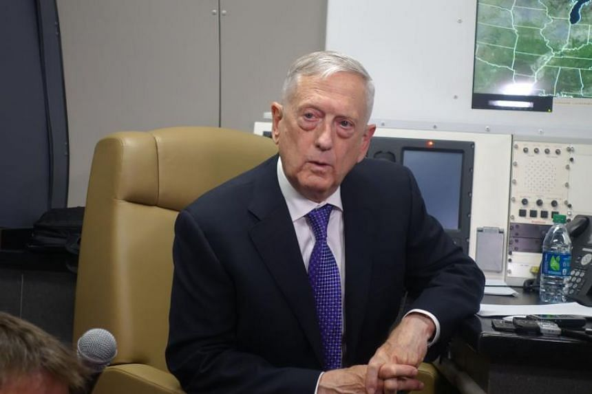 US Defence Secretary James Mattis is scheduled to meet his Chinese counterpart, Defence Minister Wei Fenghe, for the first time during the visit.