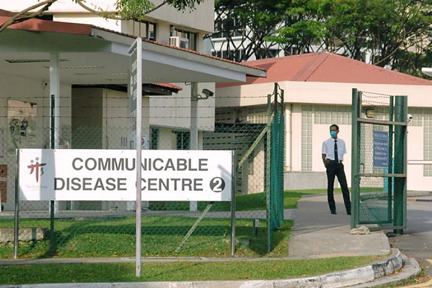 A file photo of Tan Tock Seng Hospital's Communicable Disease Centre. The Ministry of Health has proposed changes to the Infectious Diseases Act to better protect Singapore against the threat of new infectious diseases.