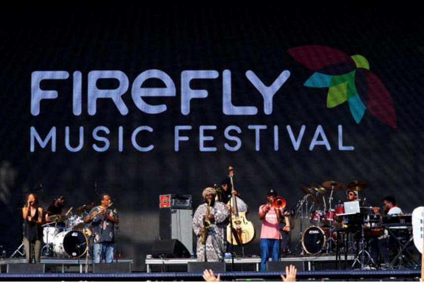 Kamasi Washington performing at the Firefly Music Festival in Delaware, US. He is set to perform at Capitol Theatre in Singapore, on Aug 23, 2018.