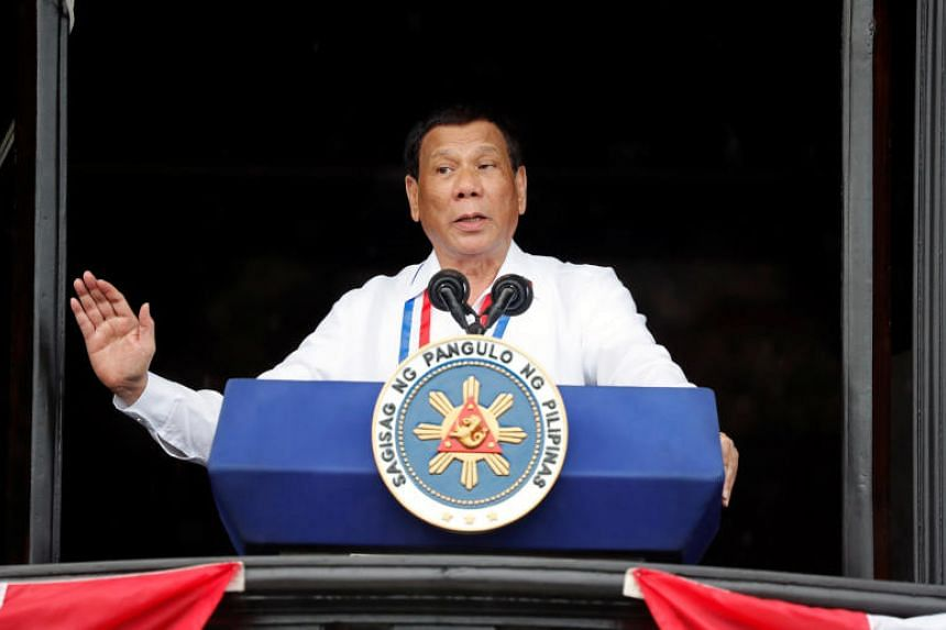 "Philippine President Rodrigo Duterte came under fire for calling God ""stupid"" in his largely Catholic nation, on June 26, 2018."
