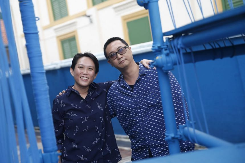 Dr Felicia Low and Dr Woon Tien Wei made their announcement at a town hall event yesterday to about 90 people from the arts community. They spoke about their decision to serve and took questions from attendees.