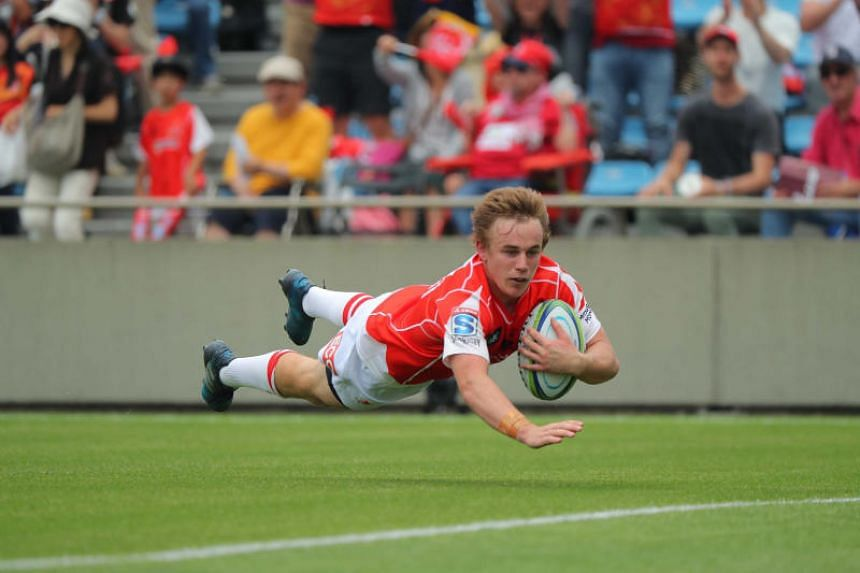 Hayden Parker in action for the Sunwolves. The Sunwolves are hoping to beat South African side Bulls at the National Stadium on Saturday (June 30).