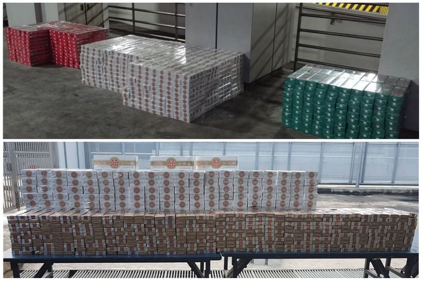 The unpaid duty and goods and services tax for the cigarettes from the lorry and the car amounted to $126,392 and $9,263.91 respectively.