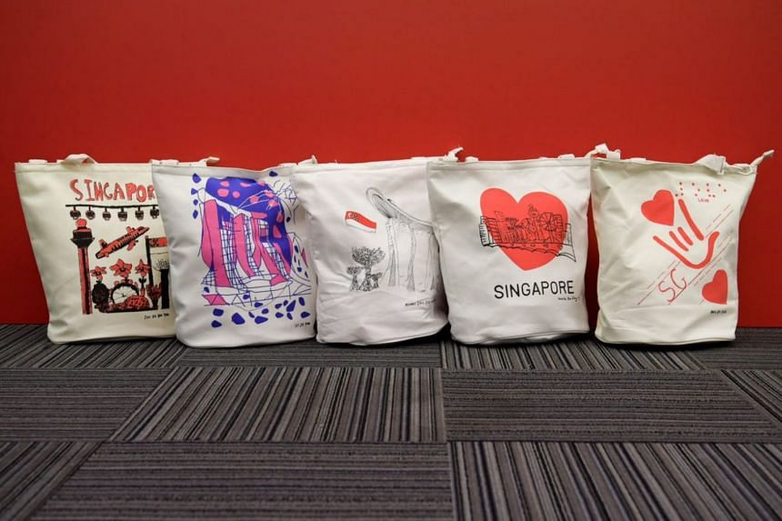 The designs featured on the funpacks are in line with this year's National Day Parade theme, We Are Singapore, representing Singaporeans from different walks of life overcoming challenges and achieving their aspirations.