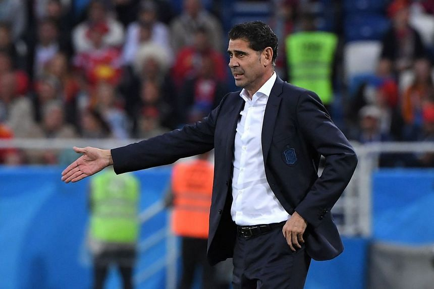 Spain coach Fernando Hierro refused to single players out for criticism but promised his side would work collectively to shore things up at the back.