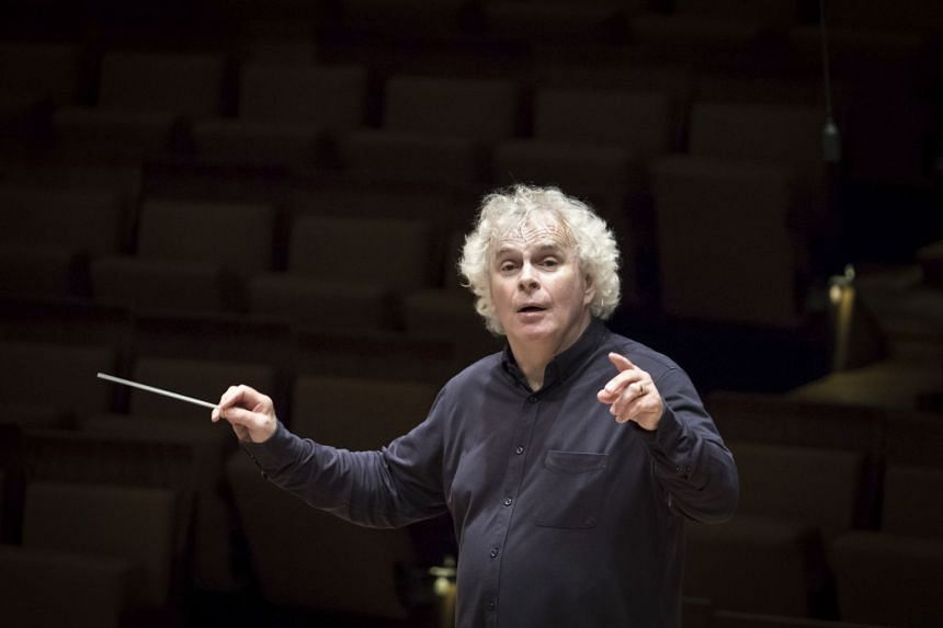 Simon Rattle has already started a new job as music director of the London Symphony Orchestra, but will continue to live in Berlin with his family.