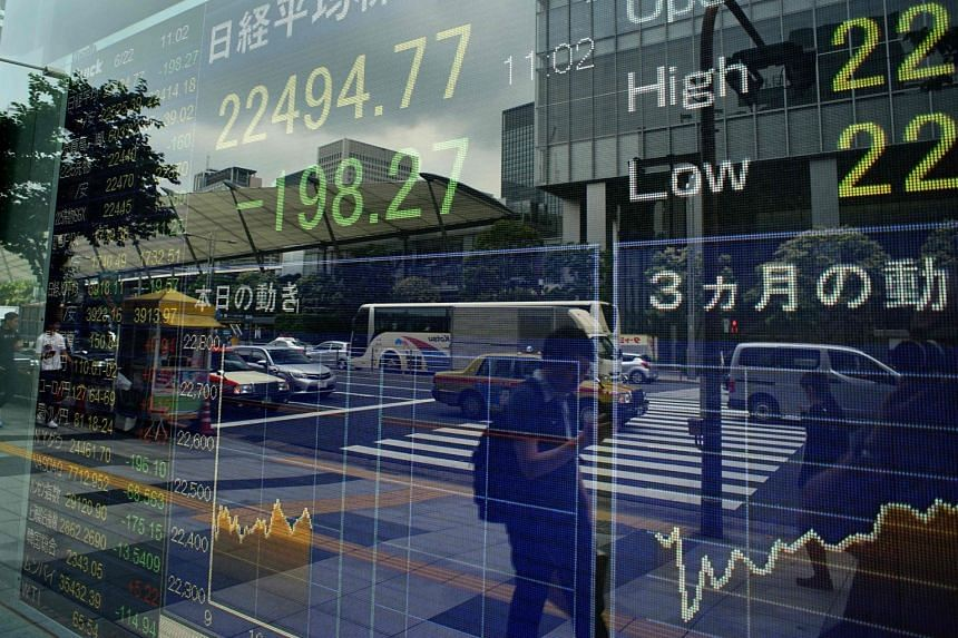Equities in Asia took their cues from Wall Street, where the S&P 500 and Nasdaq suffered their steepest losses in more than two months overnight.