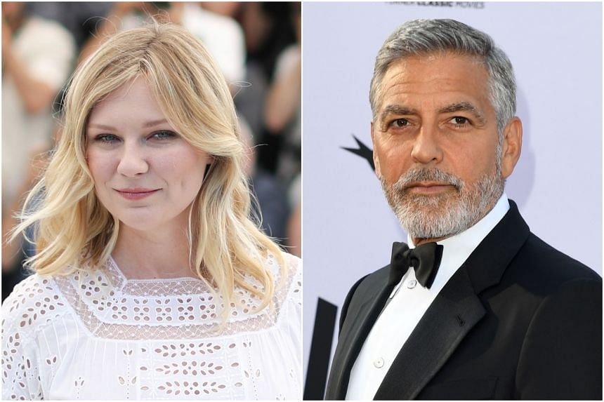 YouTube Premium webcast has commissioned a dark humor comedy that will be co-produced by George Clooney (right) and Kirsten Dunst, who will also be the lead performer.