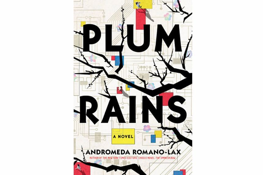 Plum Rain is the fourth novel of Andromeda Romano-Lax , a former freelance journalist and travel writer.