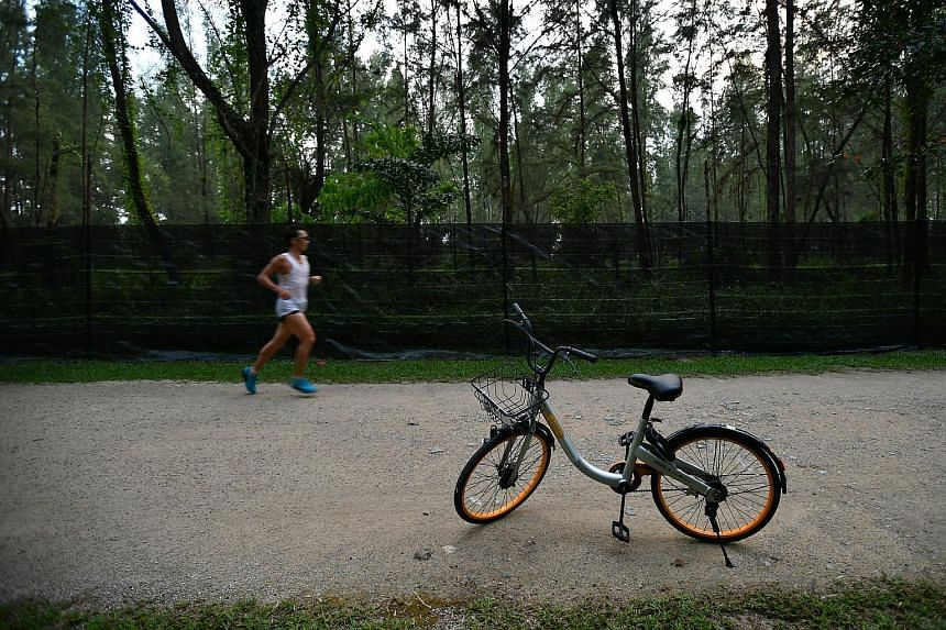 oBike announced on Monday that it was ceasing operations in Singapore, saying it foresaw difficulties in meeting upcoming Land Transport Authority licensing requirements.