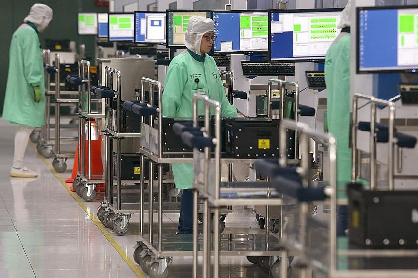 Semiconductor production posted robust growth of 26.9 per cent, fuelling expansion in the electronics sector. The volatile biomedical sector also contributed to growth, expanding 17.7 per cent last month, up from 8.2 per cent in April.