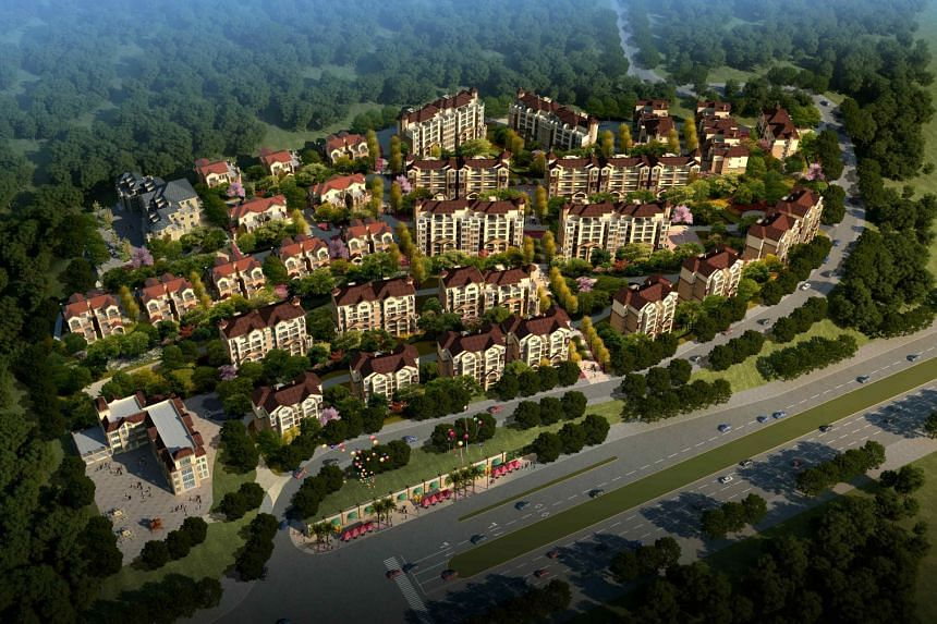 One of the brownfield sites within CapitaLand's newly-acquired prime land parcel in Chongqing.