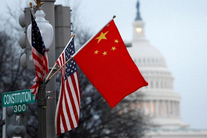China has denied accusations that it misappropriated US intellectual property.
