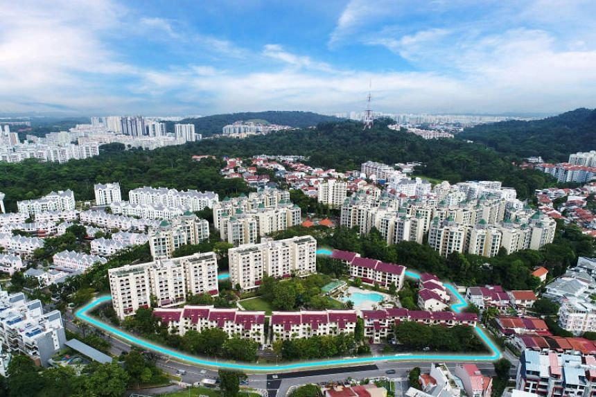 The 210-unit development along Toh Tuck Road was sold to the Qingjian Group of Companies for $610 million.
