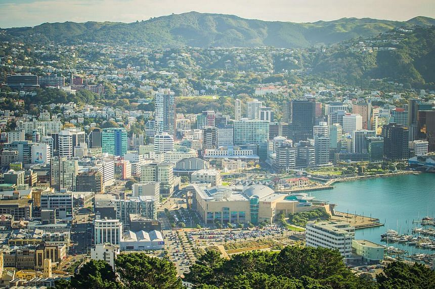 File photo showing New Zealand's capital city, Wellington. Dealing with the housing shortfall has been touted as a priority for the Labour-led government.