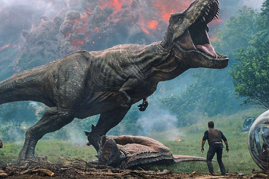 Domestic takings for Jurassic World: Fallen Kingdom is only at 21 per cent currently.