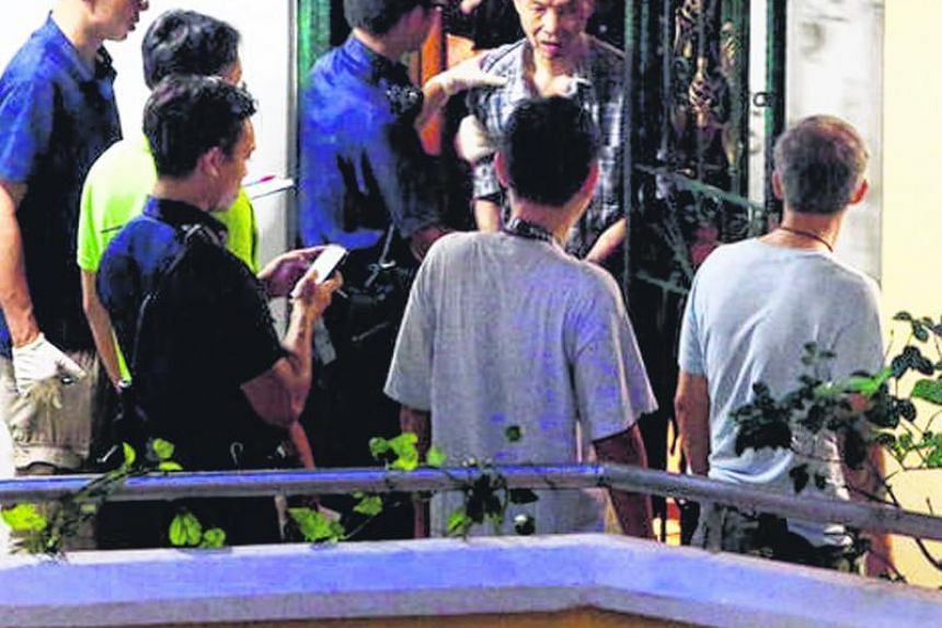 The three-judge court stressed that the longer jail time was not to punish Kong Peng Yee (middle top), but to rehabilitate him and to prevent him from harming others.