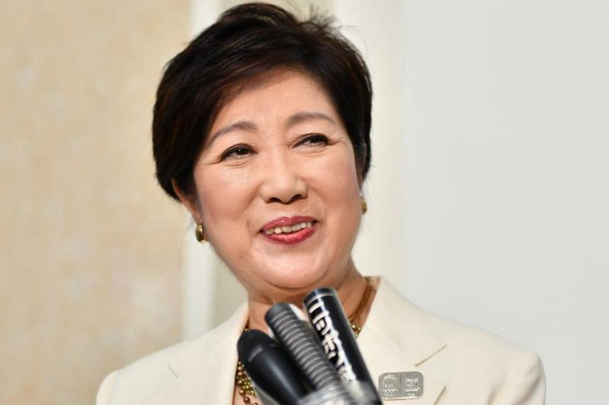 Tokyo Governor Yuriko Koike has frequently vowed to clean up the city's act ahead of the Games.