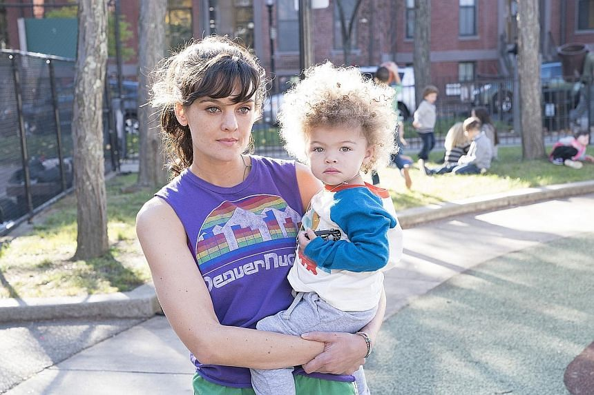 Frankie Shaw plays 20something protagonist Bridgette, who adores her son, but finds that single motherhood is no picnic.