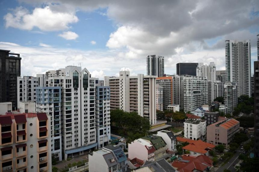 Private houses in Balestier Road. Prices of completed non-landed private homes in Singapore climbed 1.5 per cent in May from the previous month.