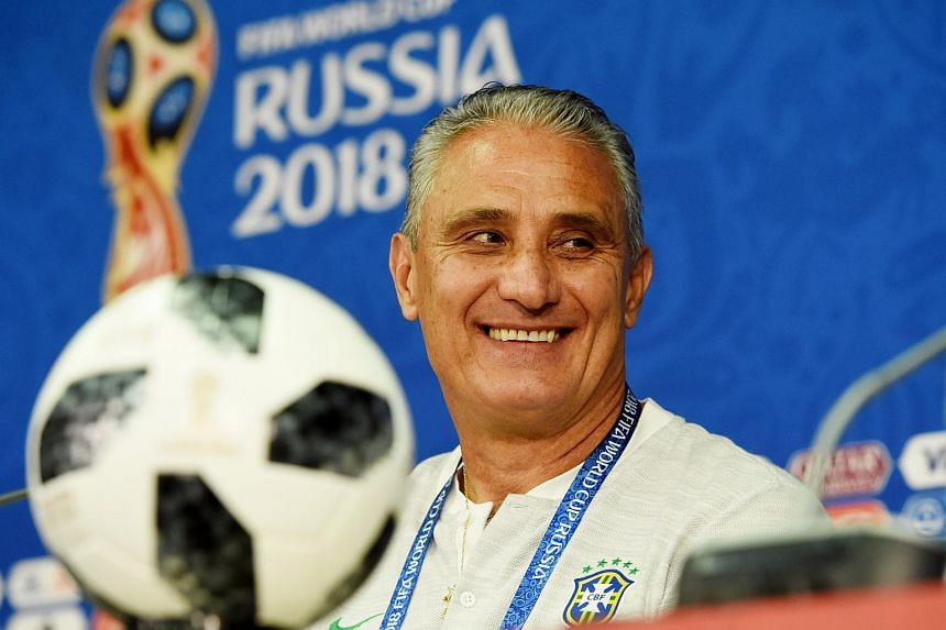 Brazil coach Tite praised his team for the way they had coped with the huge pressure of representing the nation in the World Cup.