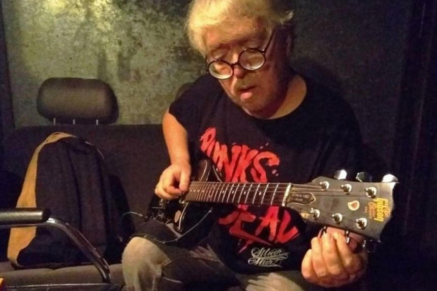 """Russian musician Andrey Suchilin, 59, died on June 25, 2018, after suffering from a flesh-eating disease that caused him to smell. It was previously reported that the flight he was on last month had to make a diversion because of his """"unbearable"""" bod"""