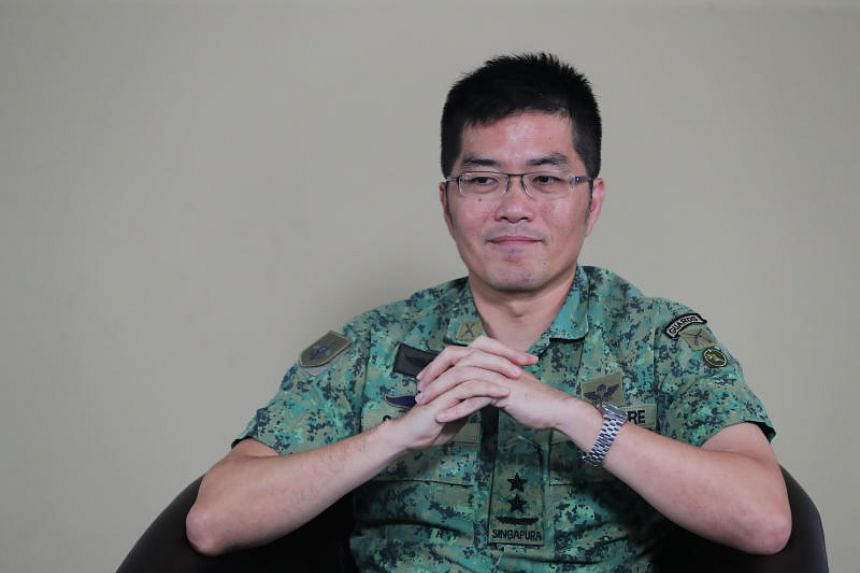 Chief of Defence Force Melvyn Ong joined the SAF in 1994 and was awarded the SAF Overseas Scholarship.