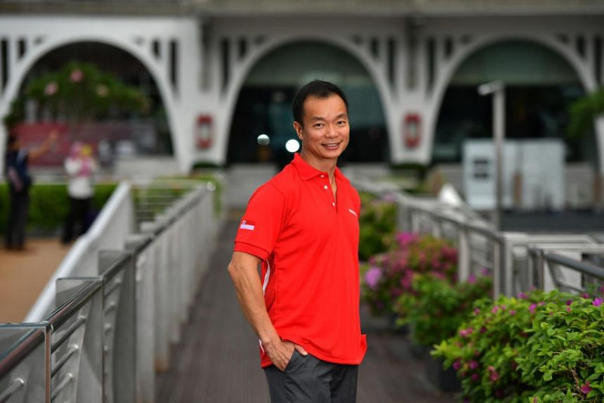 Dr Ben Tan, President of Singapore Sailing Federation, at the announcement of Singapore Sailing Team at the Asian Games, at Monti At The Fullerton Pavilion on June 27, 2018.