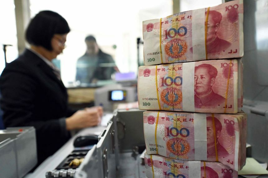 The yuan's drop in the past two weeks has coincided with an escalation in trade tensions with the US, spurring concern that China might embrace purposeful devaluation as a policy tool.