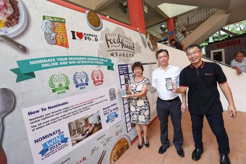 The 11th season of the City Hawker Food Hunt was launched at Golden Mile Food Centre on June 28, 2018.