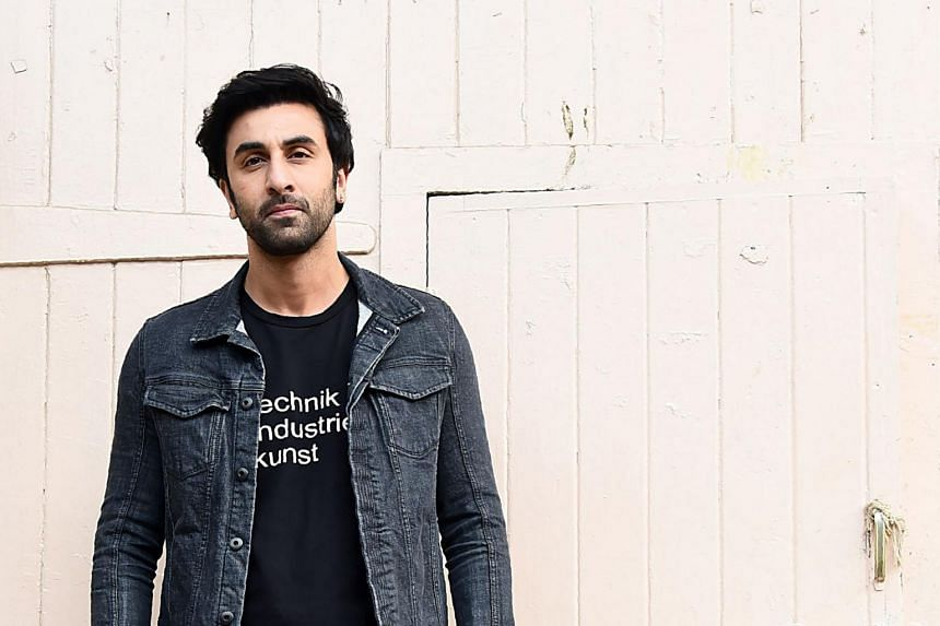 """Ranbir Kapoor, plays Dutt, who shot to fame in the mid-1980s in a string of action movies in which he performed his own stunts, earning him the nickname """"Deadly Dutt""""."""