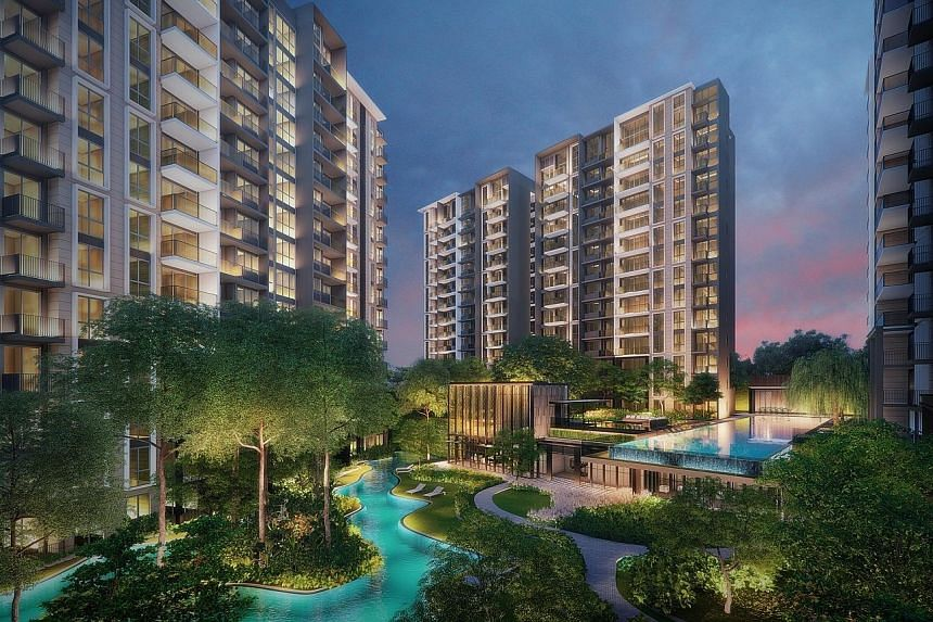 Park Colonial, located next to Woodleigh MRT station, will hold its public preview from this weekend with sales to start on July 14.