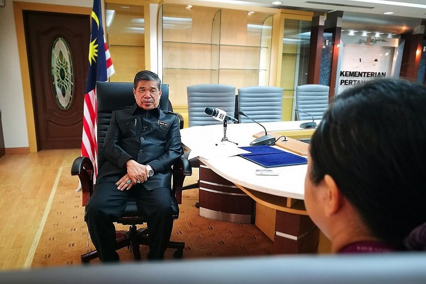 Malaysian Defence Minister Mohamad Sabu, in an interview with The Straits Times at the Defence Ministry yesterday, said his ministry was concerned over the presence of China's vessels in Malaysia's exclusive economic zone, but would not deploy warshi