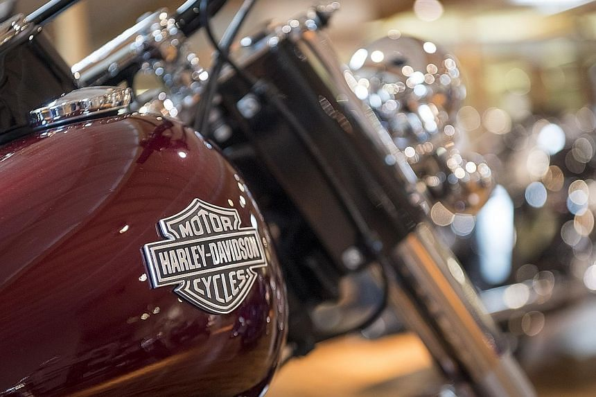 US President Donald Trump has accused Harley-Davidson of misleading Americans by saying it was moving production of its Europe-bound bikes overseas in response to new tariffs by the European Union.