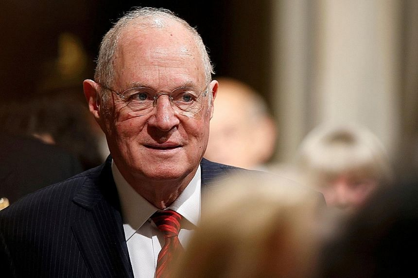 US Supreme Court Justice Anthony Kennedy was largely conservative, but occasionally sided with the liberal wing of the court.