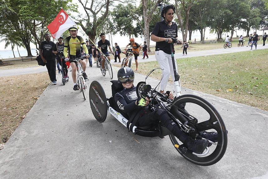 William Tan, who made history in 2005 by setting a world record as the first paraplegic to finish 10 marathons on seven continents in 70 days, is looking forward to participating in the Gold Coast Marathon on Sunday.