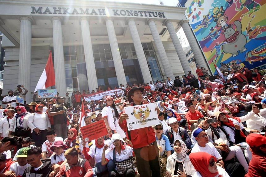 Indonesia's Constitutional Court also scrapped a requirement for law enforcers to secure consent from the House's ethics council before launching an investigation into lawmakers.