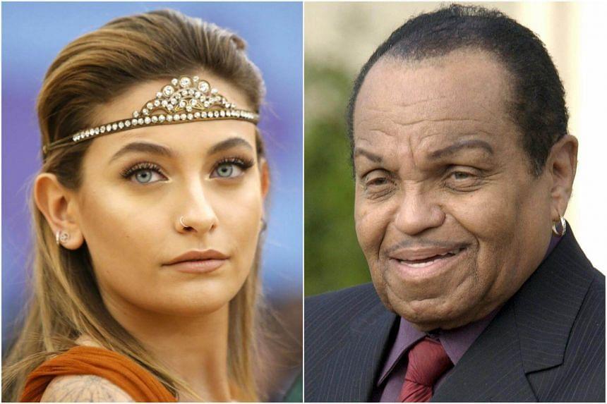 Paris Jackson said she would cherish her time with her grandfather Joe Jackson.