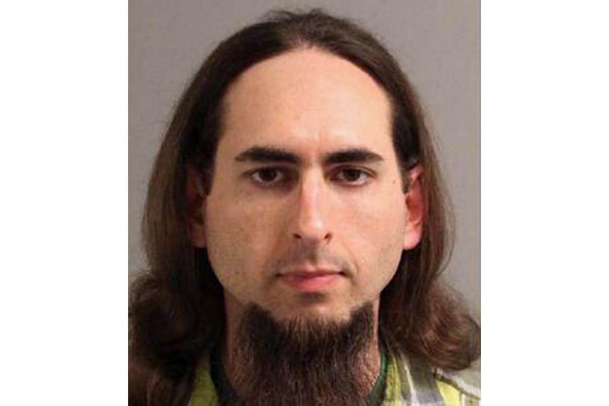 Jarrod Ramos, as seen in this 2013 Anne Arundel Police Department booking photo obtained from social media. He is suspected of killing five people at the offices of the Capital Gazette newspaper office, on June 28, 2018.