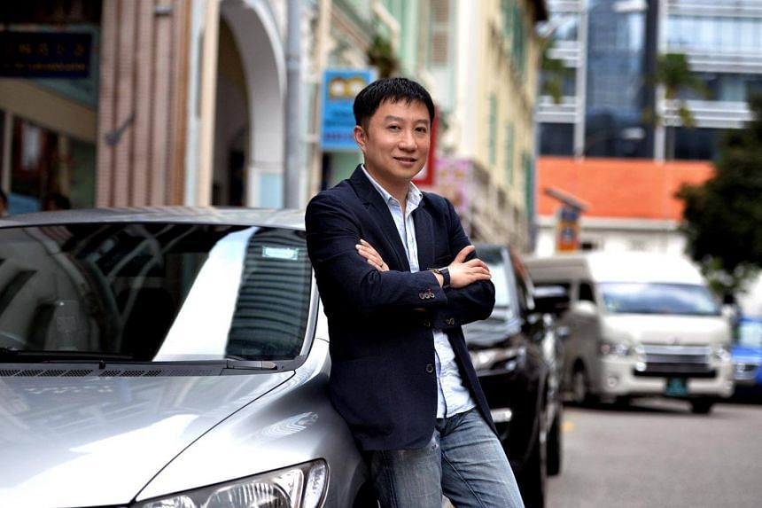Terence Zou, founder of local carpool service app Ryde, which received thousands of bookings from fake accounts, including some allegedly made by rival Grab.