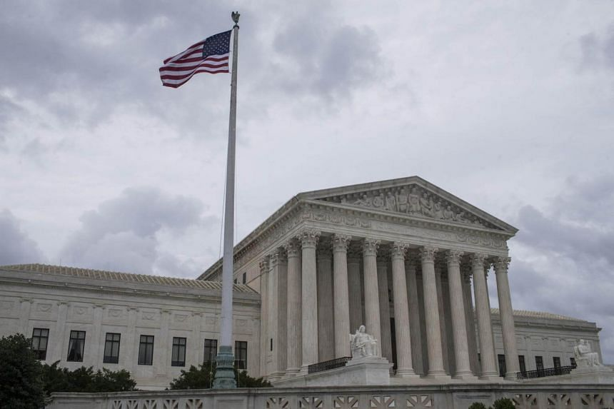 The US Supreme Court in Washington, on June 27, 2018.
