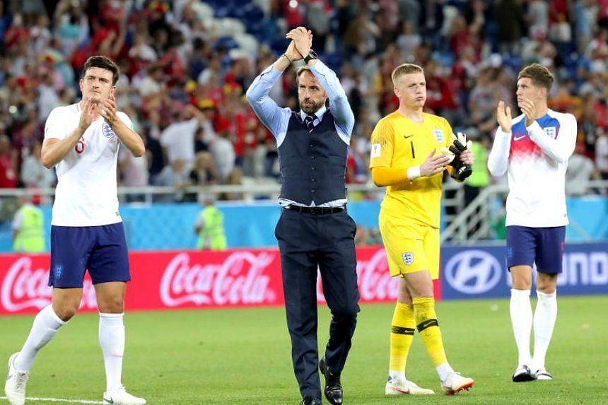 Gareth Southgate (centre) introduced eight changes to his line-up to allow all 20 outfielders to taste some action over the past fortnight.