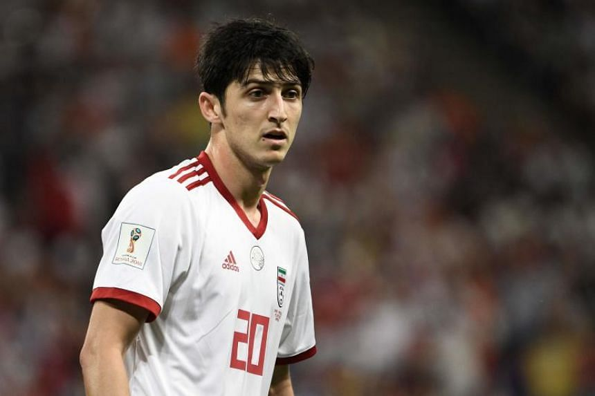 Sardar Azmoun, 23, drew brickbats from fans after he failed to deliver in the World Cup Group B game against Spain.