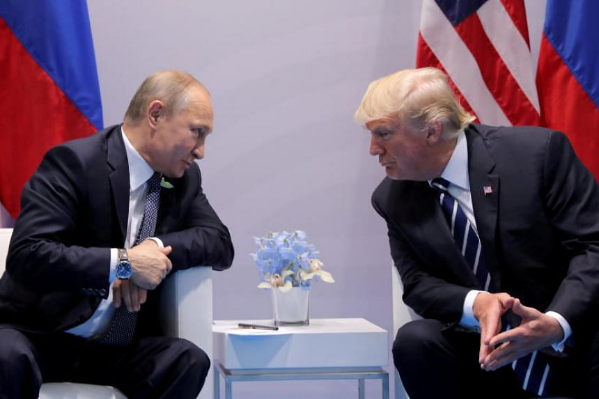 Russian President Vladimir Putin and US President Donald Trump will meet at their first official summit in Helsinki on July 16, 2018.