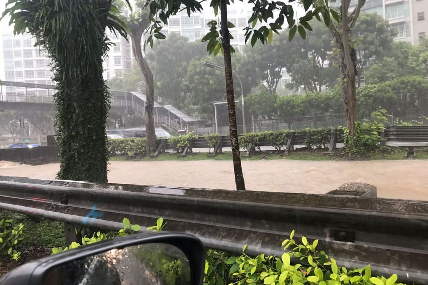 In a statement, PUB said about 85mm of rainfall was recorded from 9.30am to 11.30am on June 29, 2018, more than half the average rainfall of 130.7mm in the entire month of June.